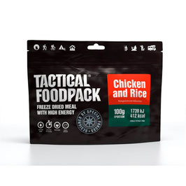 Tactical Foodpack Hühnchen mit Reis