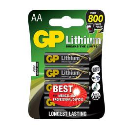 GP Batteries Lithium AA
