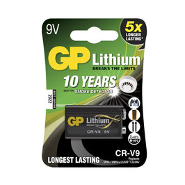 GP Batteries Lithium CRV9