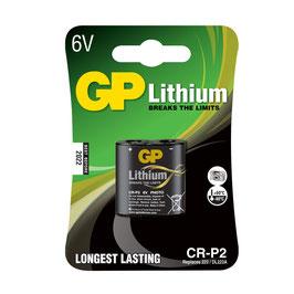 GP Batteries  Lithium CR P2
