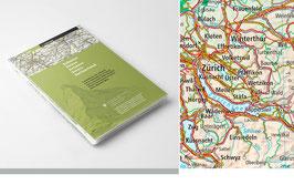 Landeskarte der Schweiz 1:1'000'000
