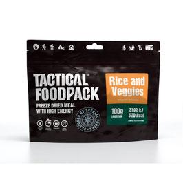 Tactical Foodpack Reisgericht mit Gemüse