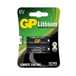 GP Batteries  Lithium 2CR5