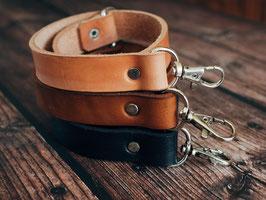 Kamera-Handschlaufe, schwarz, antik-farben oder saddle-tan