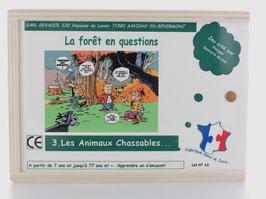 Jeu en bois : les animaux de la forêt