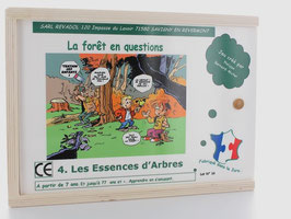 Jeu en bois : les essences d'arbre