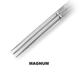 Aguja Magnum Long Tape