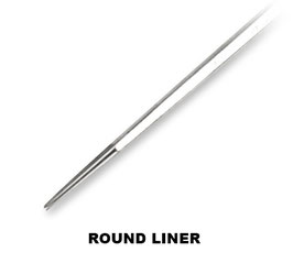 Aguja Round Liner Long Tape