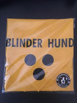 Hundehalstuch Blinder Hund