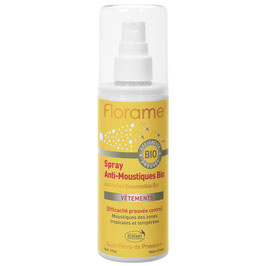 Spray anti-moustiques bio aux Huiles Essentielles bio 90 ml