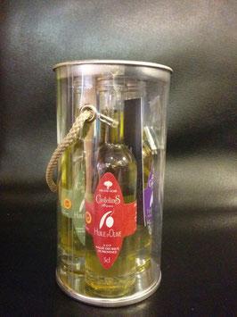 Coffret de 3 mignonnettes d'huiles d'olive