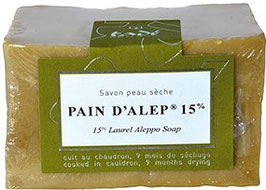 Savon d'Alep Laurier 15% 200 gr