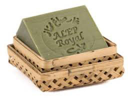Boite porte  -savon en bambou (boîte vide)