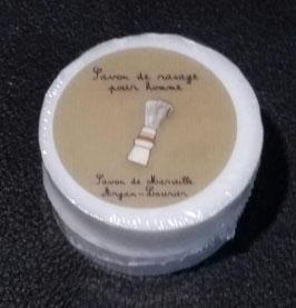 2  recharges Savon du barbier à l'huile d'argan