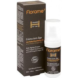 Crème anti-âge homme aux huiles essentielles bio 30 ml