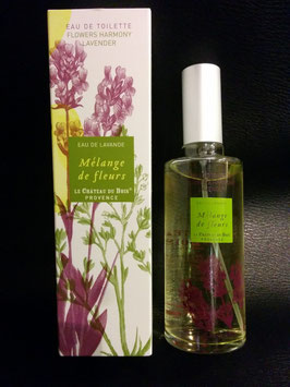 "Eau de Lavande ""Mélange de fleurs"" - Flacon Spray 100ml"