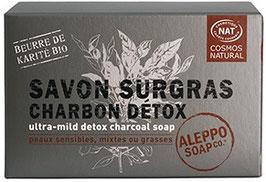 Savon Surgras Charbon pour les peaux mixtes à grasses- 150G