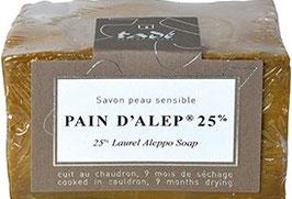 Savon d'Alep Laurier 25%  200 gr