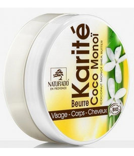 Karité Coco Monoï Bio 135 g (peaux sèches)
