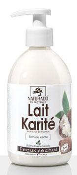 Lait corps karité Bio - 500 ml -