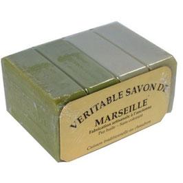 4 Savons de Marseille de 100 gr