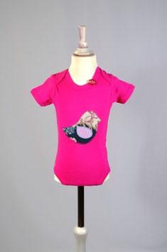 BODY pink kurzarm (Organic) -025-