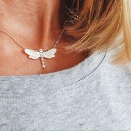 Libelle 925 Silberkette schmal und filigran