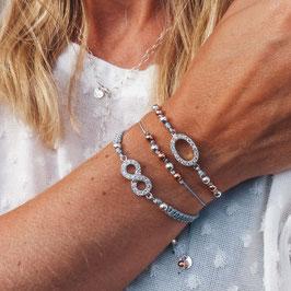 Infinity Oval oder Perlen 925 Sterling Silber - perfekt zu jedem Look!
