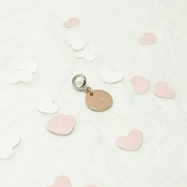 °dressa° rosevergoldetes Plättchen  925 Silber