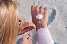 Andressa - oceanlover 925 Sterling Silber Armband - Flosse Meerjungfrau