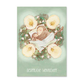 "Postkarte ""Adventsnest"""