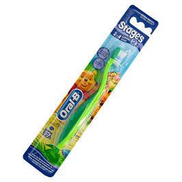 Stages 2 Kinder-Zahnbürste für 2-4 Jahre