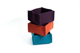 Filzbox, Filzkorb, Aufbewahrungsbox, Filzschale