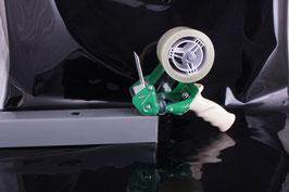 Handabroller mit Bremse und Sicherheitsmesser