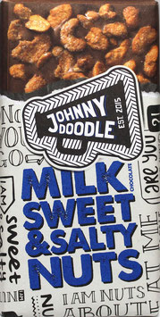 Johnny Doodle - Milk Sweet & Salty Nuts 150g