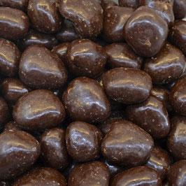 Ingwer kandiert in Zartbitterschokolade