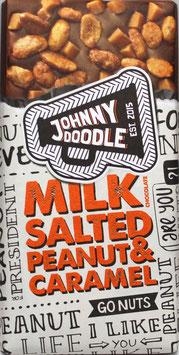 Johnny Doodle - Salted Peanuts & Caramel 150g