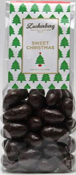 Schokomandeln Zartbitter/Minze 200g  Sweet Christmas