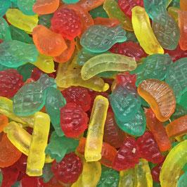 Zuckerfreie Tropische Früchte