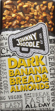 Johnny Doodle - Dark Banana Bread & Almonds 150g