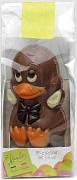 Osterfigur Entchen - Edelvollmilch Schokolade