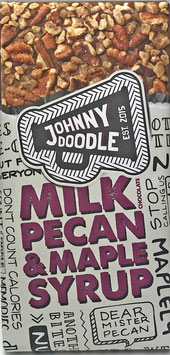 Johnny Doodle - Milk Pecan & Maple Syrup 150g