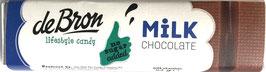 De Bron Milchschokolade ohne Zuckerzusatz