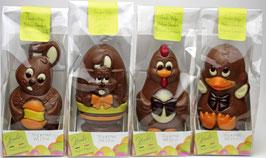 Osterfiguren Set - Edelvollmilch Schokolade
