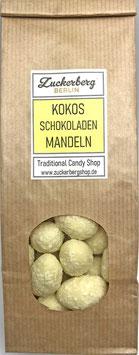 Kokos Mandeln mit weißer Schokolade