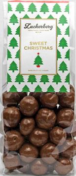 Schokoladen Haselnüsse mit Meersalz 200g  Sweet Christmas