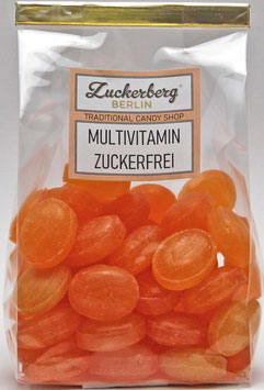 Zuckerfreie Multivitaminbonbon
