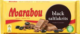Marabou - Black Saltlakrits