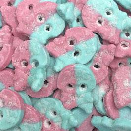 Cool Dizzy Skalle - Bubblegum Geschmack