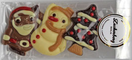 Weihnachtsset 3er  - Schokolade